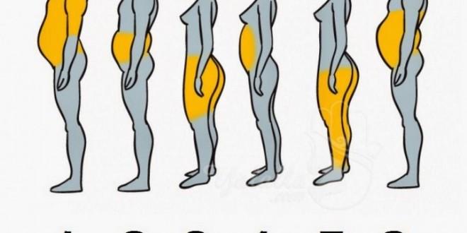تعرف على الجزء الأكثر سمنة في جسمك  ؟ إليكم السبب والحل