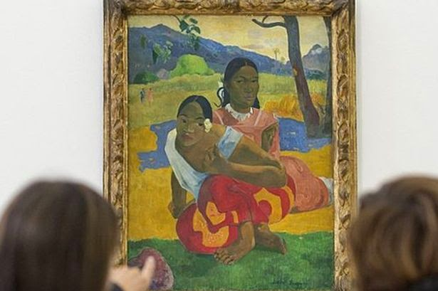 The World's Most Expensive and Amazing Artwork-Paul Gauguin Painting Sold for £200 MILLION (Photo)