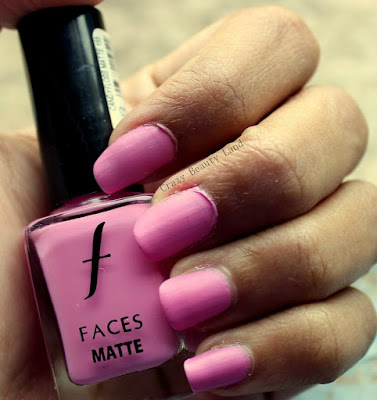 Favorite Summer Pastel Nail Polish Colors Recommendations Candyfloss Matte by Faces