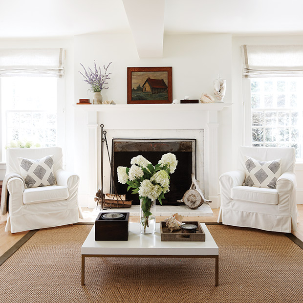 Living Room by Deb Nelson Decorator and Stylist.