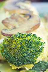St. Patrick's Day Broccoli & Chicken Rollups w/ Turmeric Coconut Milk Sauce
