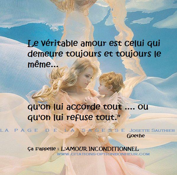 Citation Amour Inconditionnel Infos Et Ressources