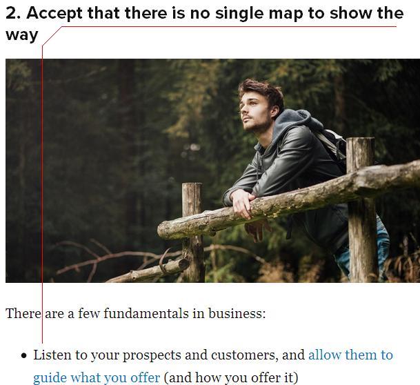 an article at copyblogger.com
