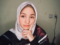 foto Bella Graceva paling cantik pakai jilbab hijab kerudung