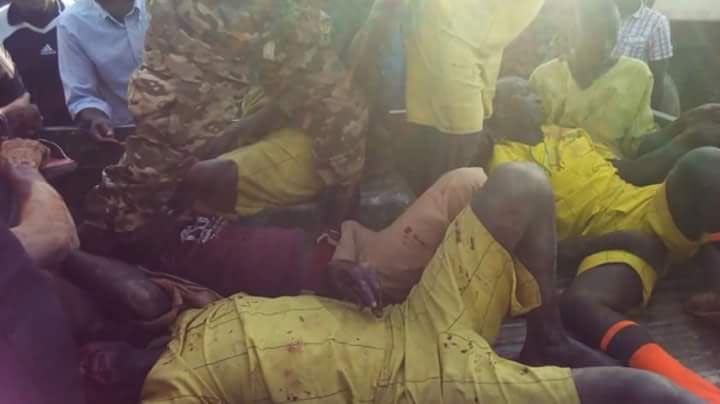 Graphic: Ugandan prisoners involved in fatal accident