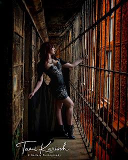 Fashion modeling in prison where Shawshank Redemption was filmed.