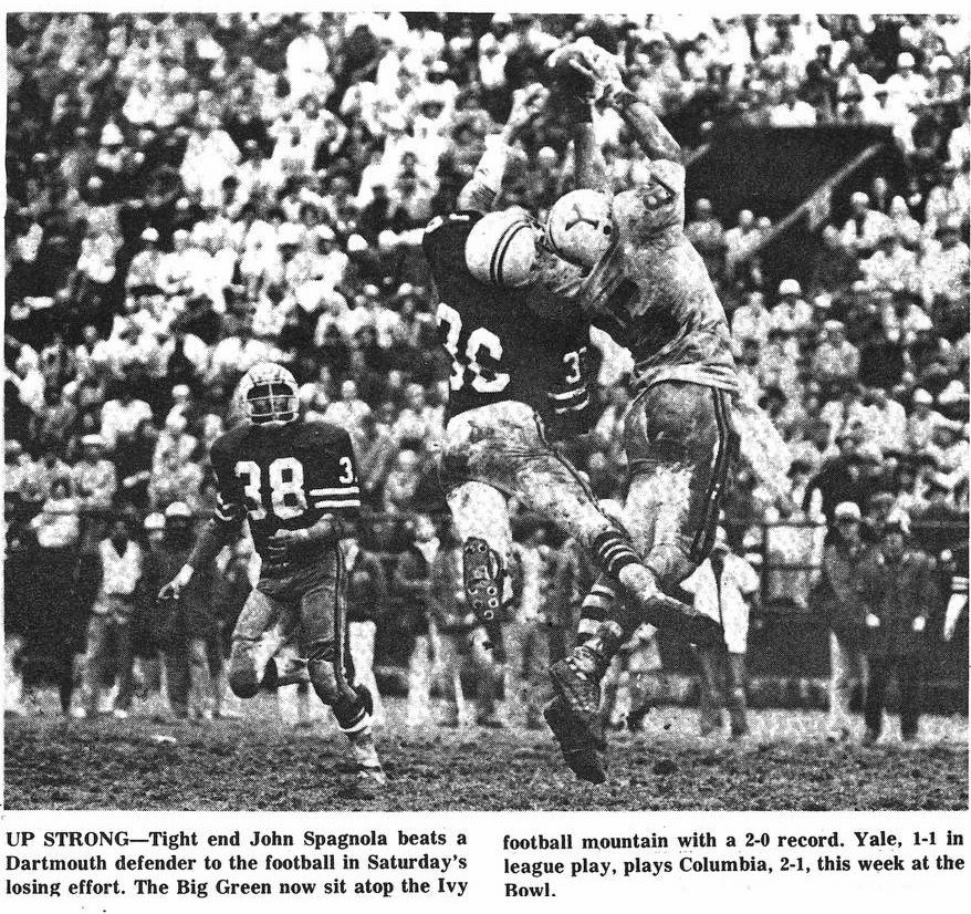 Yale Goes For A Lean And Mean Y Against Rutgers And Dartmouth In 1978 Hard To Believe Rutgers Now In The Big Ten Used To Play Ivy League Teams On A