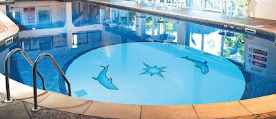 Make a 3d flooring for your swimming pool with epoxy paint for Show parameter pool