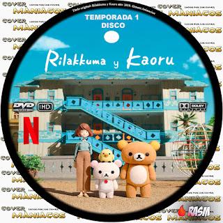 RILAKKUMA Y KAORU - RILAKKUMA AND KAORU - TEMPORADA 1 - 2019 [COVER DVD]