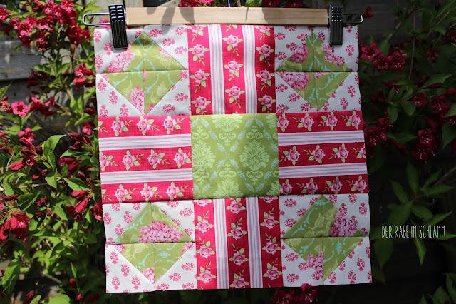Secial Bee Sampler, Tilda, Quiltblock, Quilt, Patchwork, Sewing