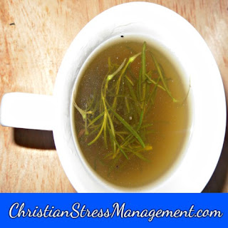 Rosemary tea for natural depression treatment