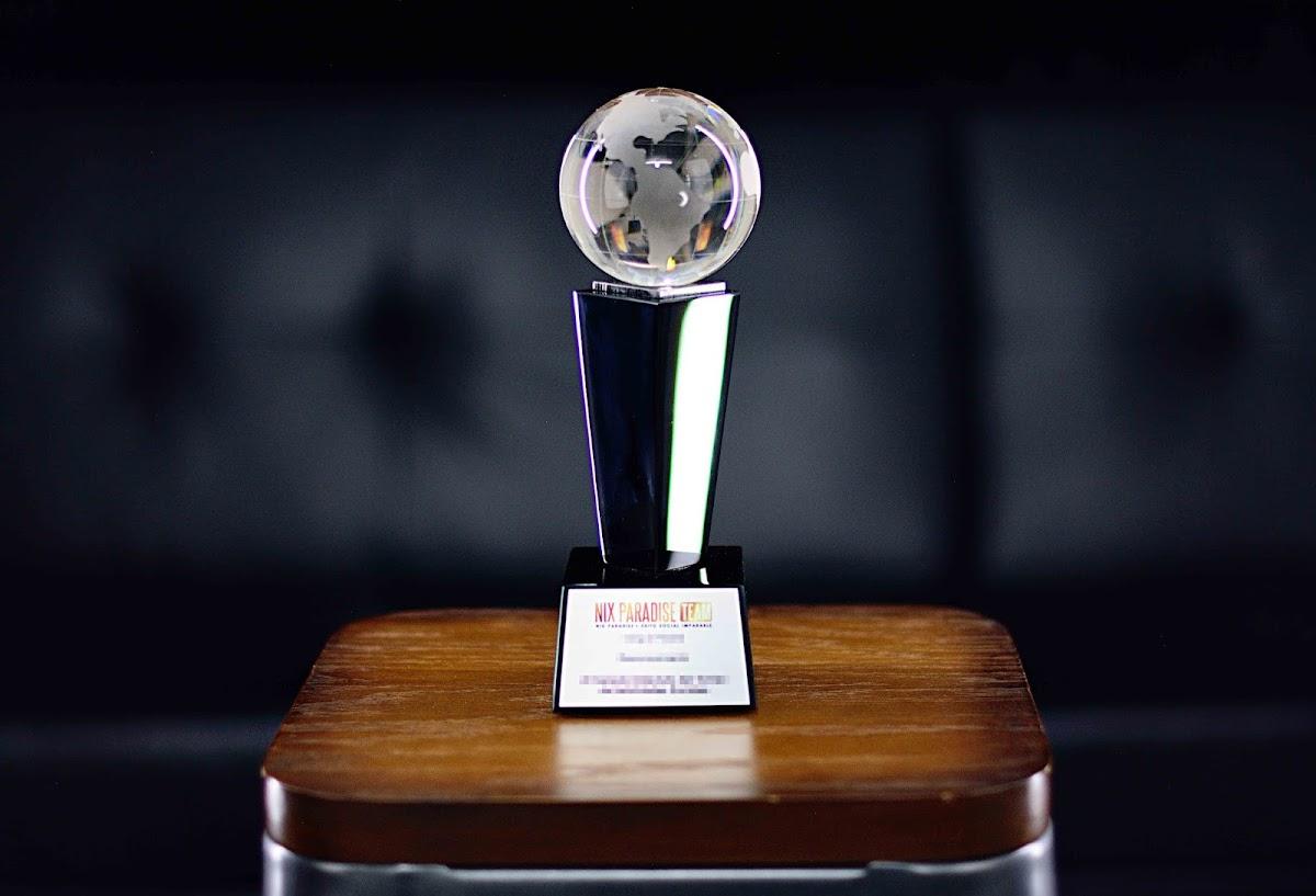 Trofeo Para El Ganador Del Torneo De Habilidades Sociales