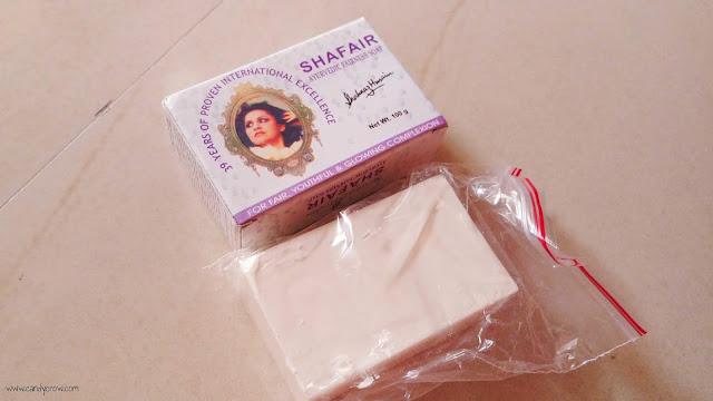 Shahnaz Hussain Shafair Plus Fairness Soap Review