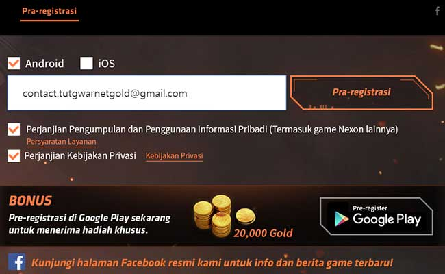 Cara Daftar Point Blank Strike iOS dan Android