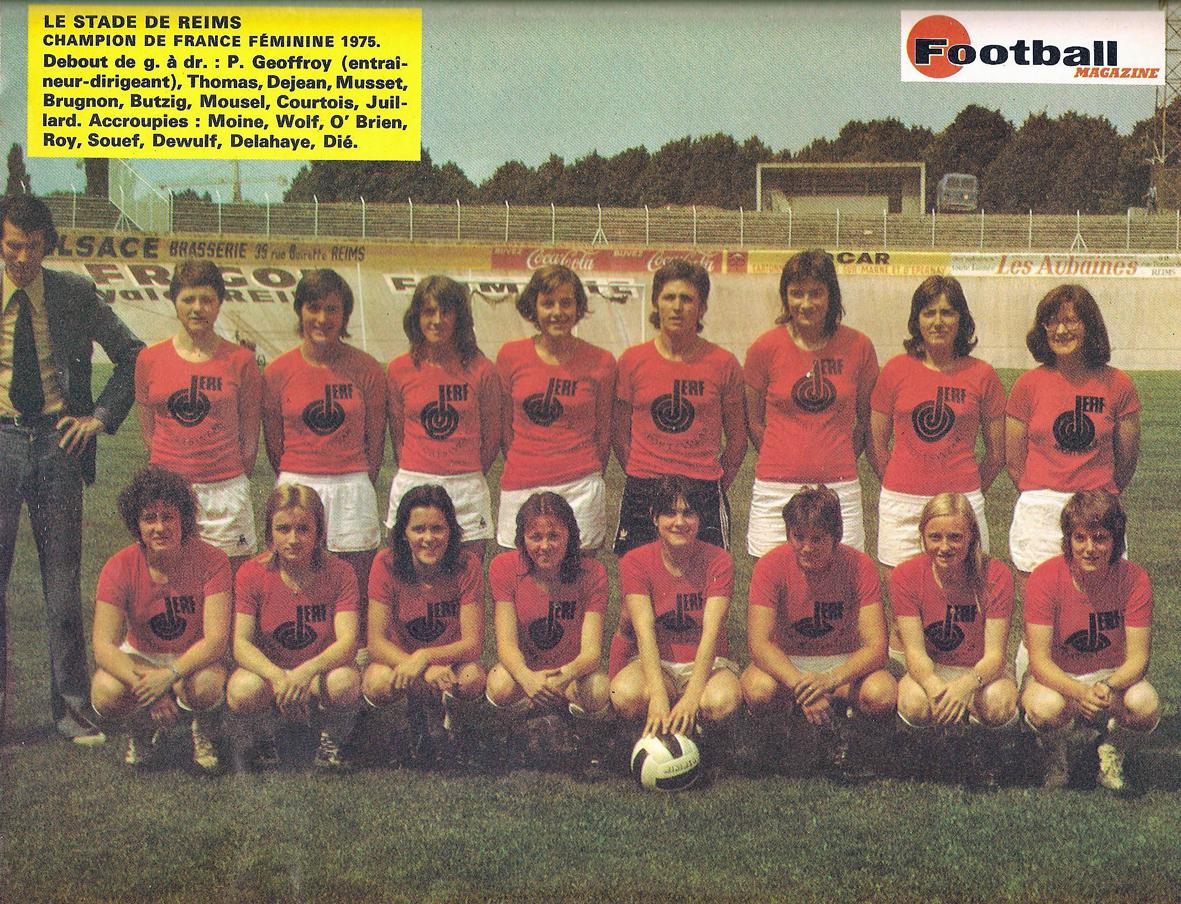 The Vintage Football Club Le Stade De Reims Se Conjugue Aussi Au