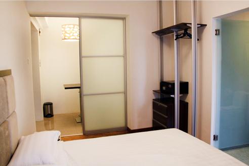 Fortville Studio A Bedroom