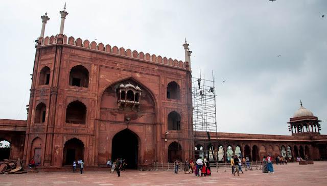 Jama Masjid visita