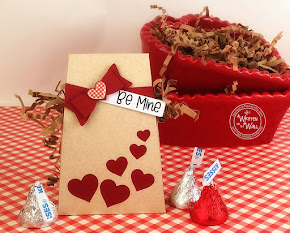 Valentine's Day Treat Box  Be Mine XOXO