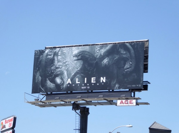 Alien Covenant movie billboard