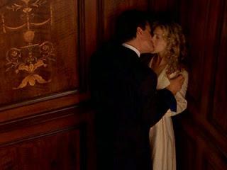 Carrie & Big, Elevator Scene