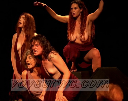 The best nude performance art, Naked Movement, Naked Dance Choreography. Nude Practice (Naked Theater 13)