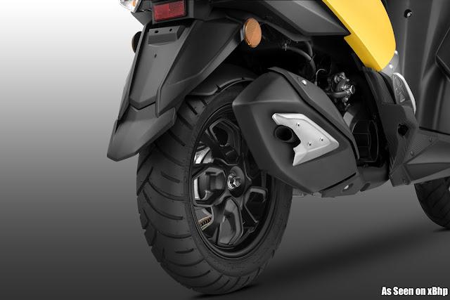 TVS Ntorq 125 Rear wheel Hd Wallpaper