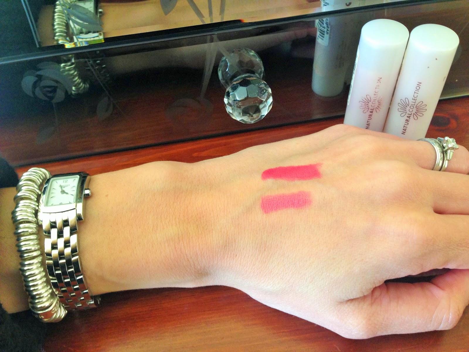Boots Natural Collection Moisture Shine Lipsticks