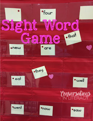 fun sight word activity