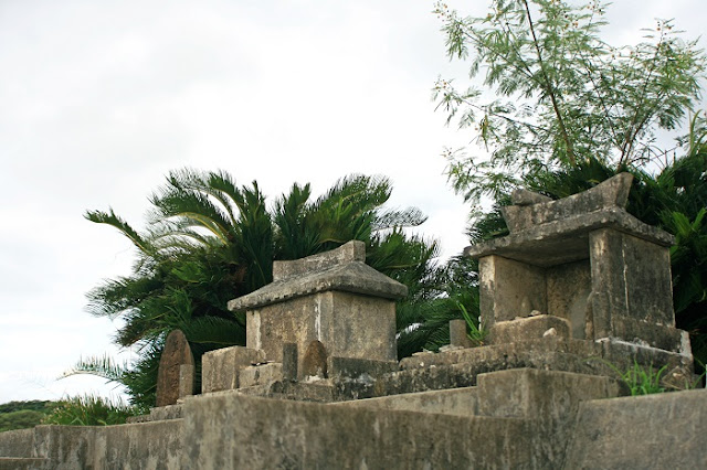 豊見城市 渡嘉敷集落内の拝所の写真