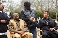 Demetrius Shipp Jr., Cory Hardrict and Jamal Woolard in All Eyez on Me (3)