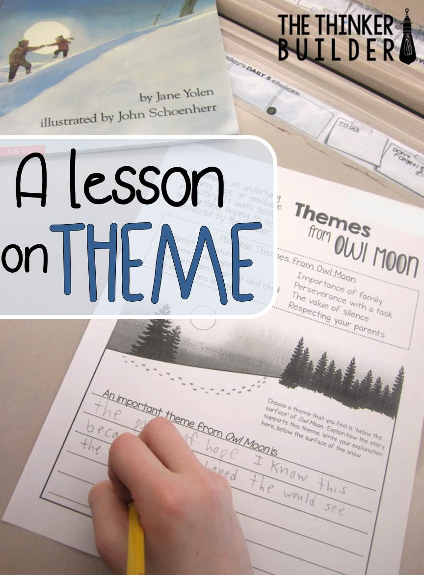 medium resolution of A Lesson on Theme