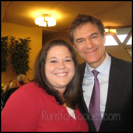 With Dr. Oz in 2009