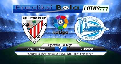 prediksi skor Ath. Bilbao vs Alaves 08 januari 2018