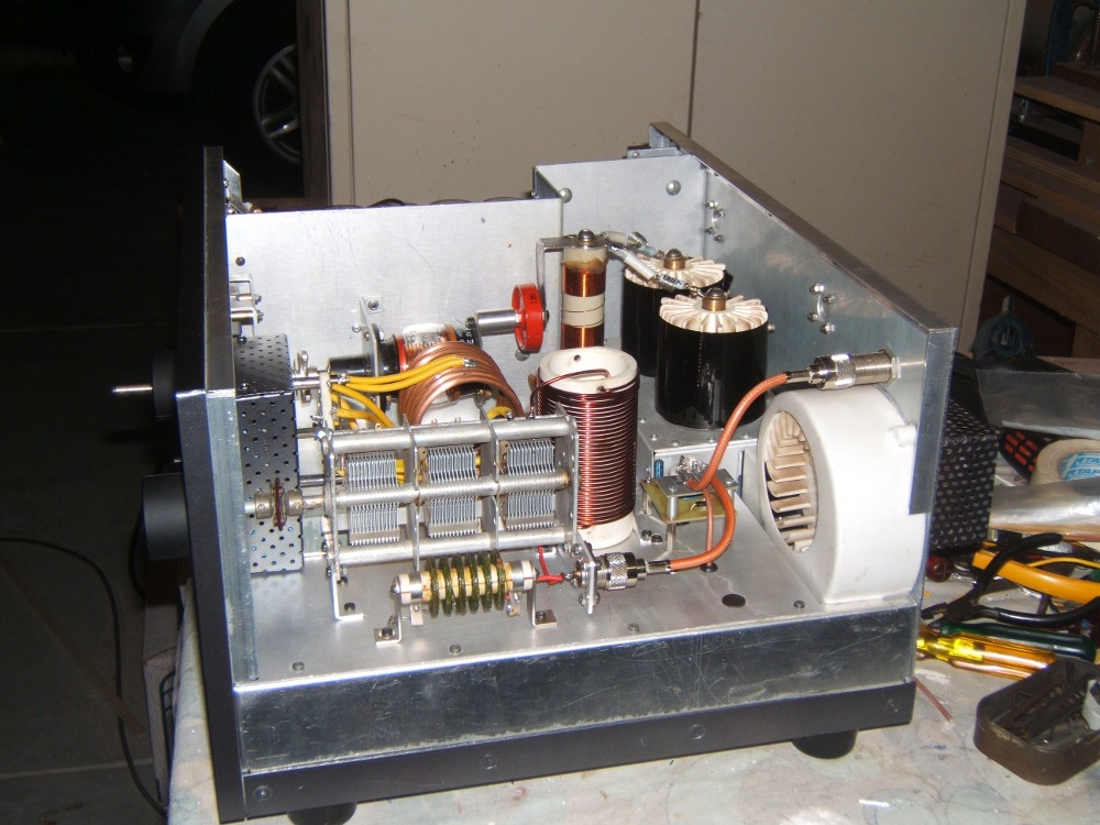 Amateur Radio Station Vk6eh Home Brew Linear Power Amplifier