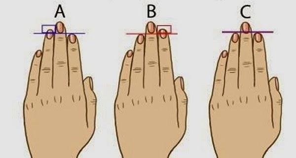 lungimea degetelor dezvaluie lucruri interesante despre personalitate