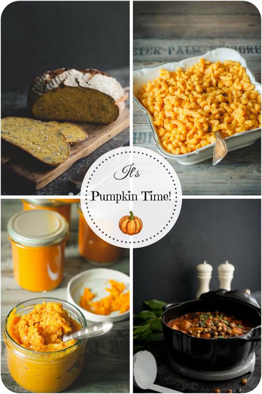 It's Pumpkin Time! Kürbisrezepte für jede Gelegenheit