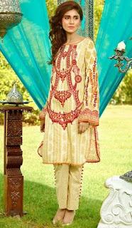 Komal Festival Eid Dresses 2016 Catalouge by Lakhani