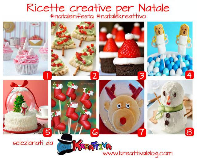 ricette creative natalizie