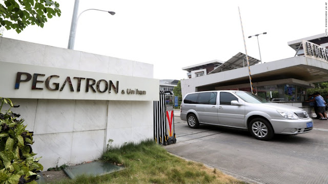Pegatron Corp. is a main contract manufacturer of Apple's that assemble iPhones and iPads for Apple Inc., said that it would move the part of its operations to the United States once its client would absorb the additional costs as report by Focus Taiwan.
