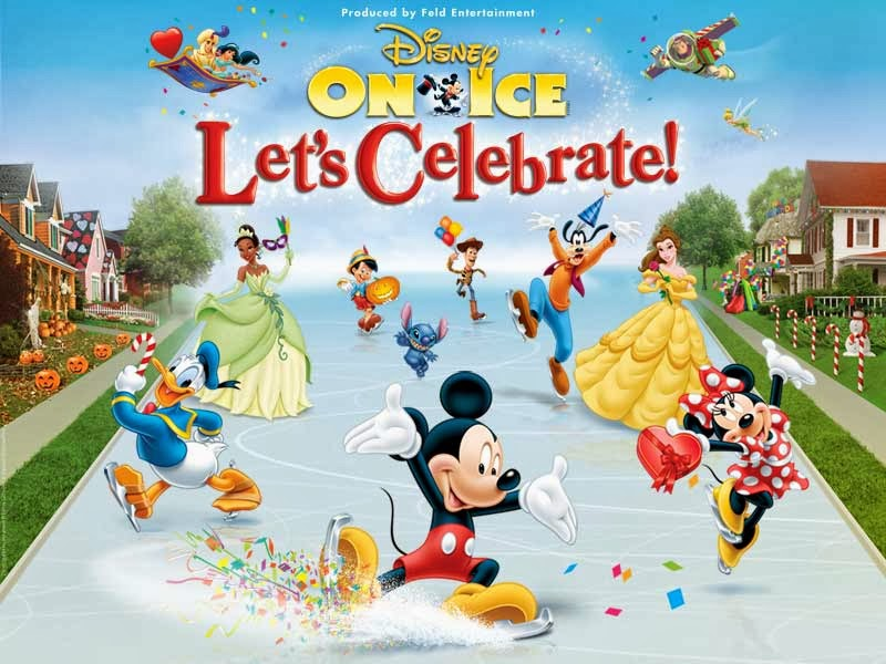 Disney On Ice: Let's Celebrate, ticket contest detroit