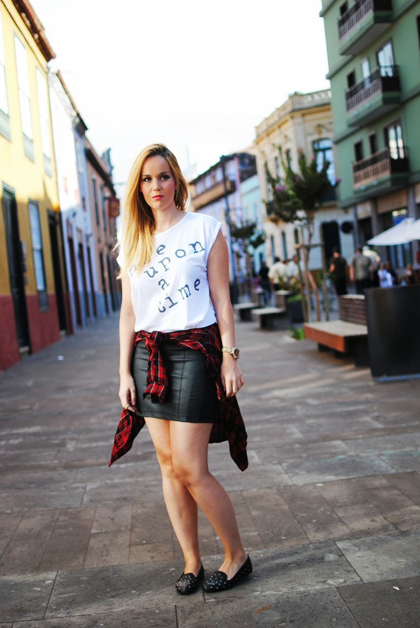 nery hdez, traffic people, tartan, fashion blogger tenerife, camisa cuadros