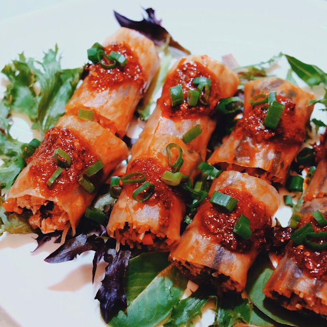 Marinated Rice Noodles Roll