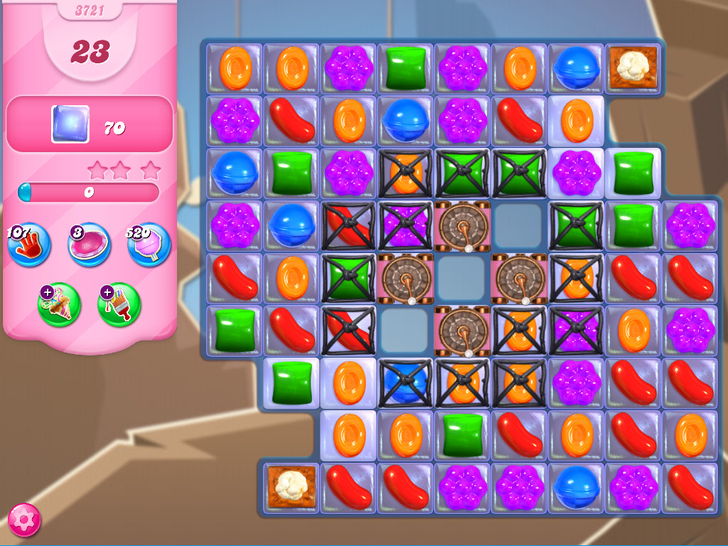 Candy Crush Saga level 3721