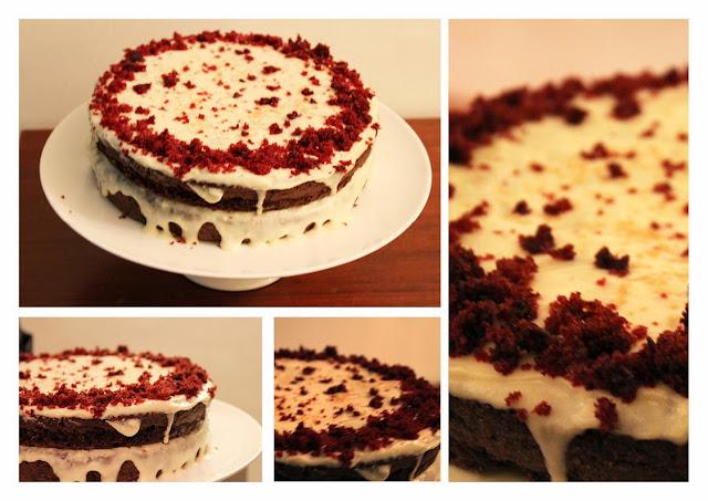 Red Velvet Cake Recipe Cream Cheese Frosting Nigella