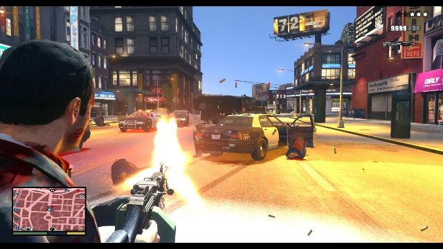 GTA 4 in Style GTA 5 Free Download PC Game