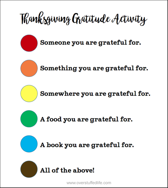 Thanksgiving gratitude activity | free printable | M&M game | Thanksgiving dinner | thankful activity | grateful | Thanksgiving Day gratitude game