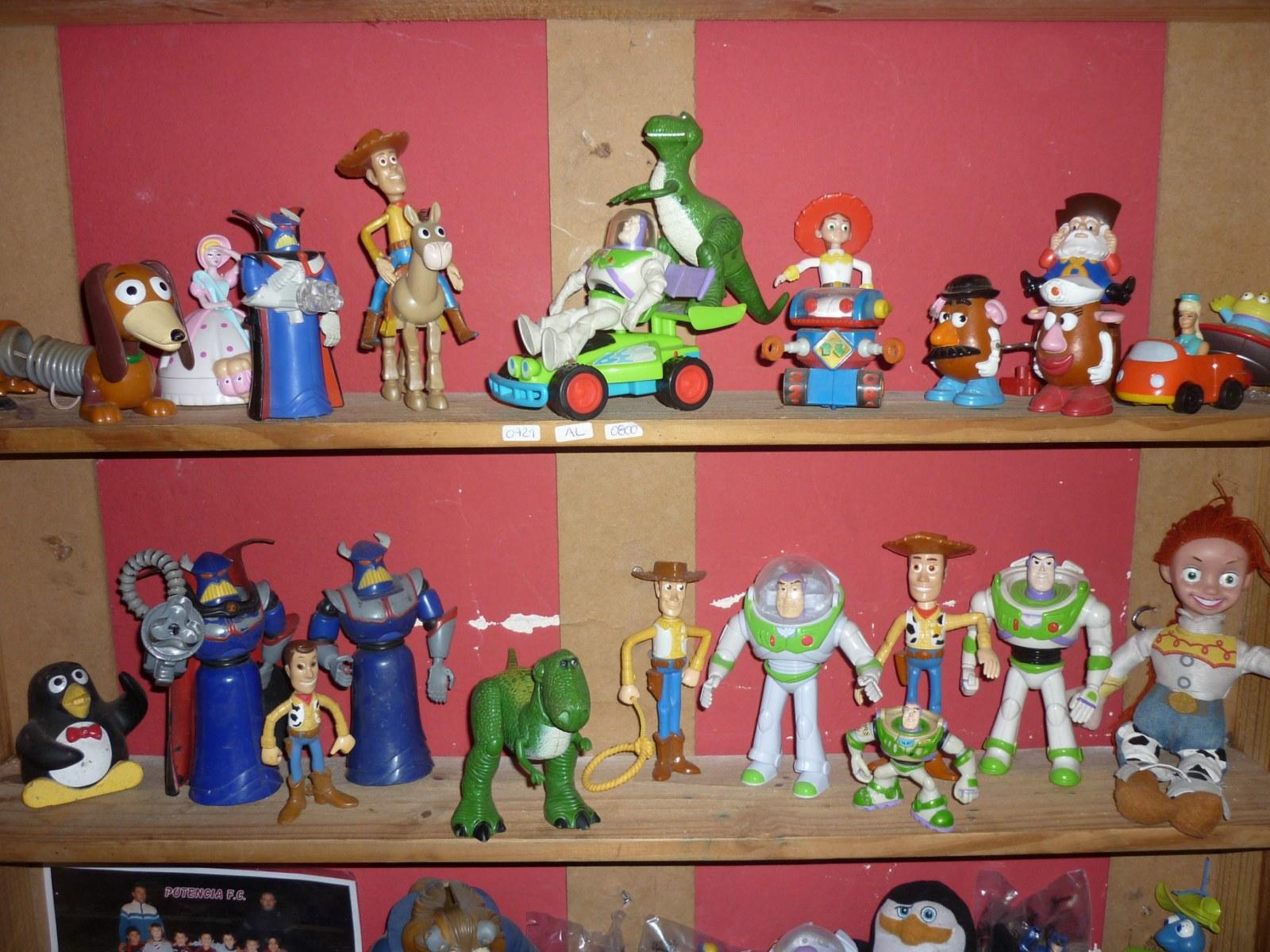 Mi coleccion de juguetes toy story mc donalds  actualizacion de mi ... 30aac93d5d8