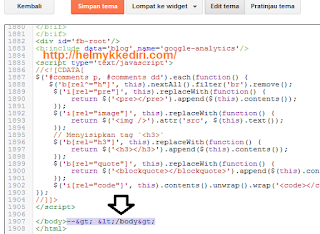 Cara memperbaiki widget arsip blog rusak1