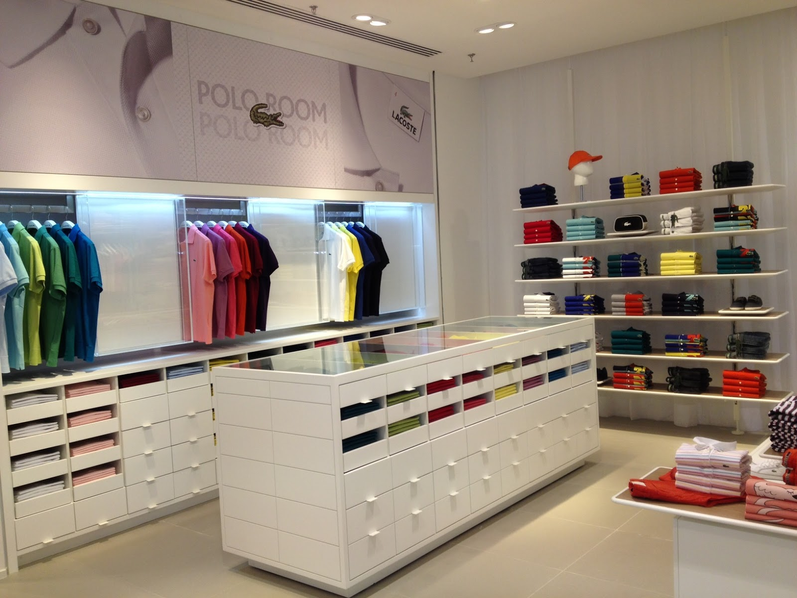 528d1b8157b16 Exclusividade Blog daLullu  Lacoste inaugura nova loja no Shopping ...