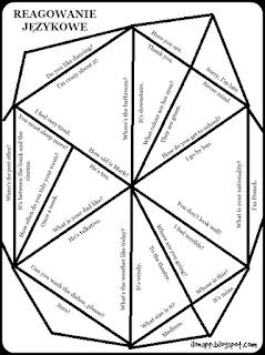 puzzle reagowanie funkcje językowe
